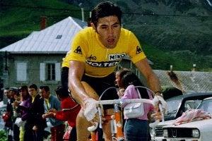 Eddy Merckx cycling.