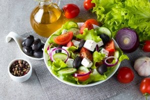 Greek salad is one of the best summer recipes you can make.