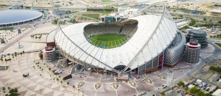 The Incredible Stadiums for the Qatar 2022 World Cup