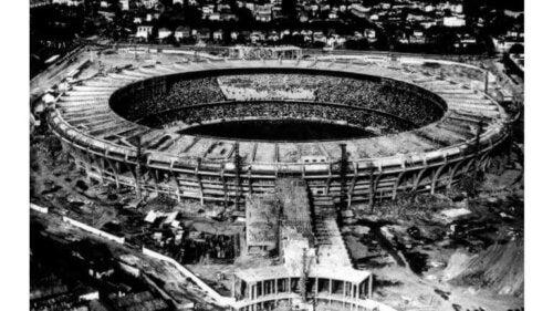 Maracanã stadium during the 1950 World Cup.