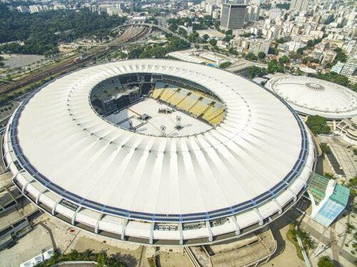 The Legendary Rio de Janeiro Maracanã Stadium