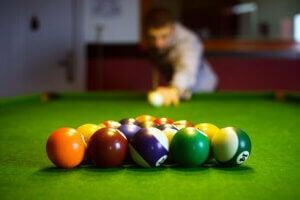 Billiards concentration