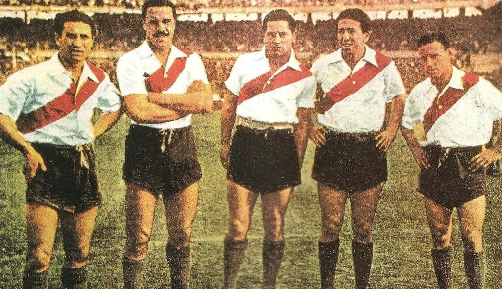 The five players that constituted La Máquina