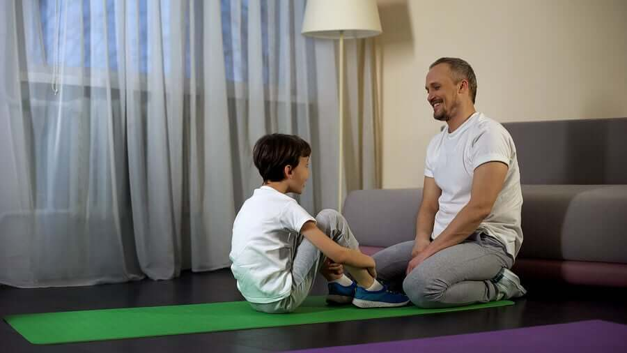 How to Help Children Exercise from Home