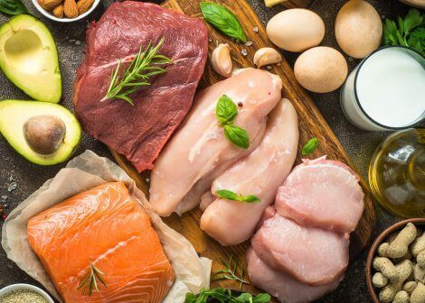 A variety of protein rich foods that women can eat to increase their intake of this nutrient