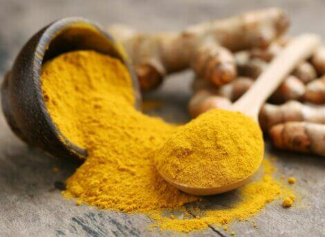 Turmeric has excellent anti-inflammatory properties