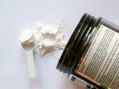 A glutamine protein mix.