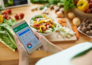 App for counting calories
