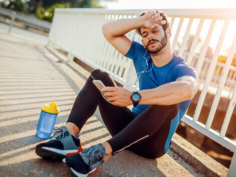 A runner who is feeling burnout