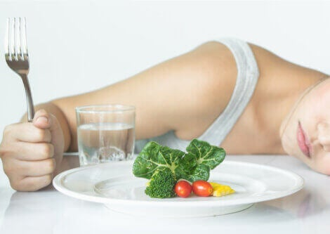 People with sadorexia or other eating disorders have a strange relationship with food.