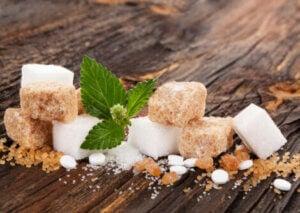 Types of sweeteners.
