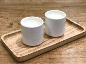 Room temperature milk