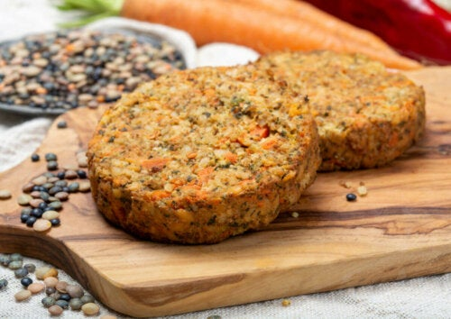 Lentils are low in calories.