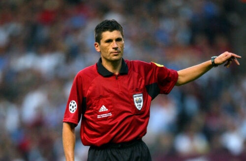 Markus was the youngest referee in his country.