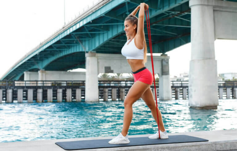 3 Resistance Band Exercises for Your Triceps